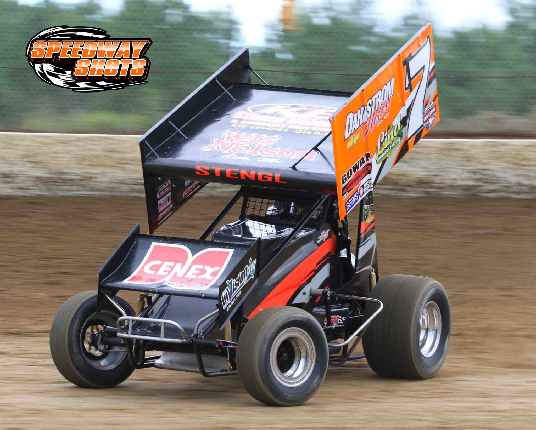 Trent Stengl, World of Outlaws, Speedway Shots, Mike Spieker