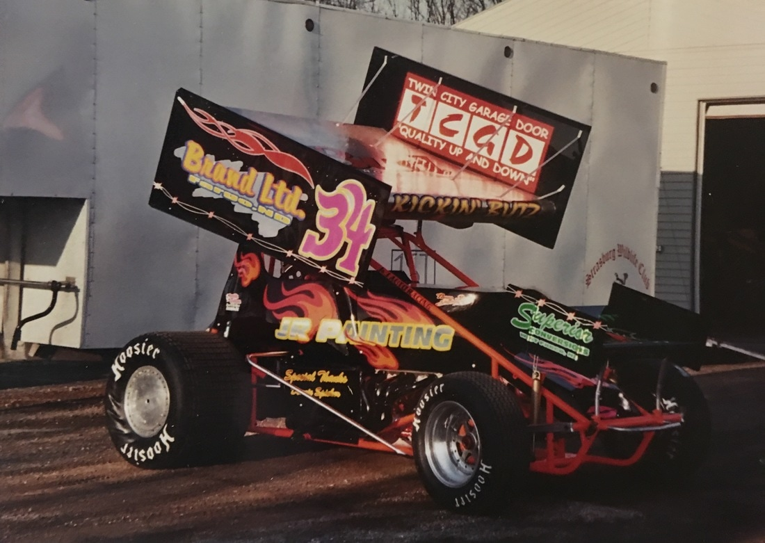 Scott Butz, NOSA sprint cars, JR painting, superior customs, donnie spieker, don spieker,