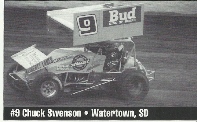 Wayne Anderson, Chuck Swenson, Red River Valley Speedway, NOSA Sprint Cars, WISSOTA Championship Sprints